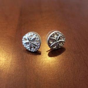 Sand Dollar Stud Earrings